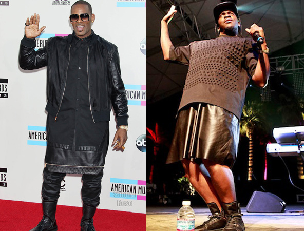 Male Rappers Wearing Dresses grows wearing dresses