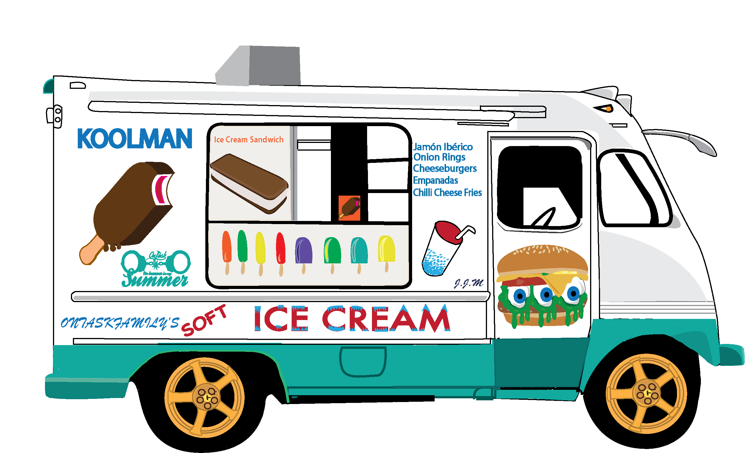 Ice Cream Truck Kid Video