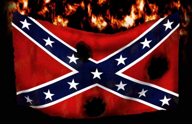 Burning Confederate Flag, Onyx Truth
