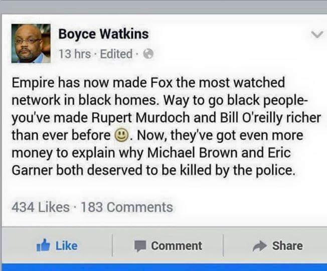 Boyce Watkins, Empire, Onyx Truth