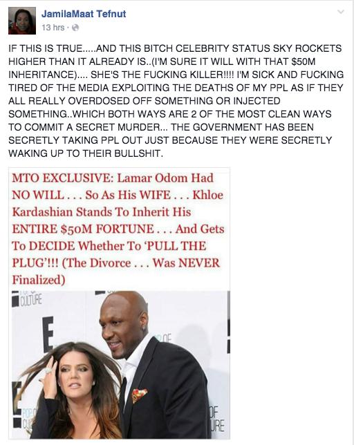 jamilaMaat Tefnut, Onyx Truth