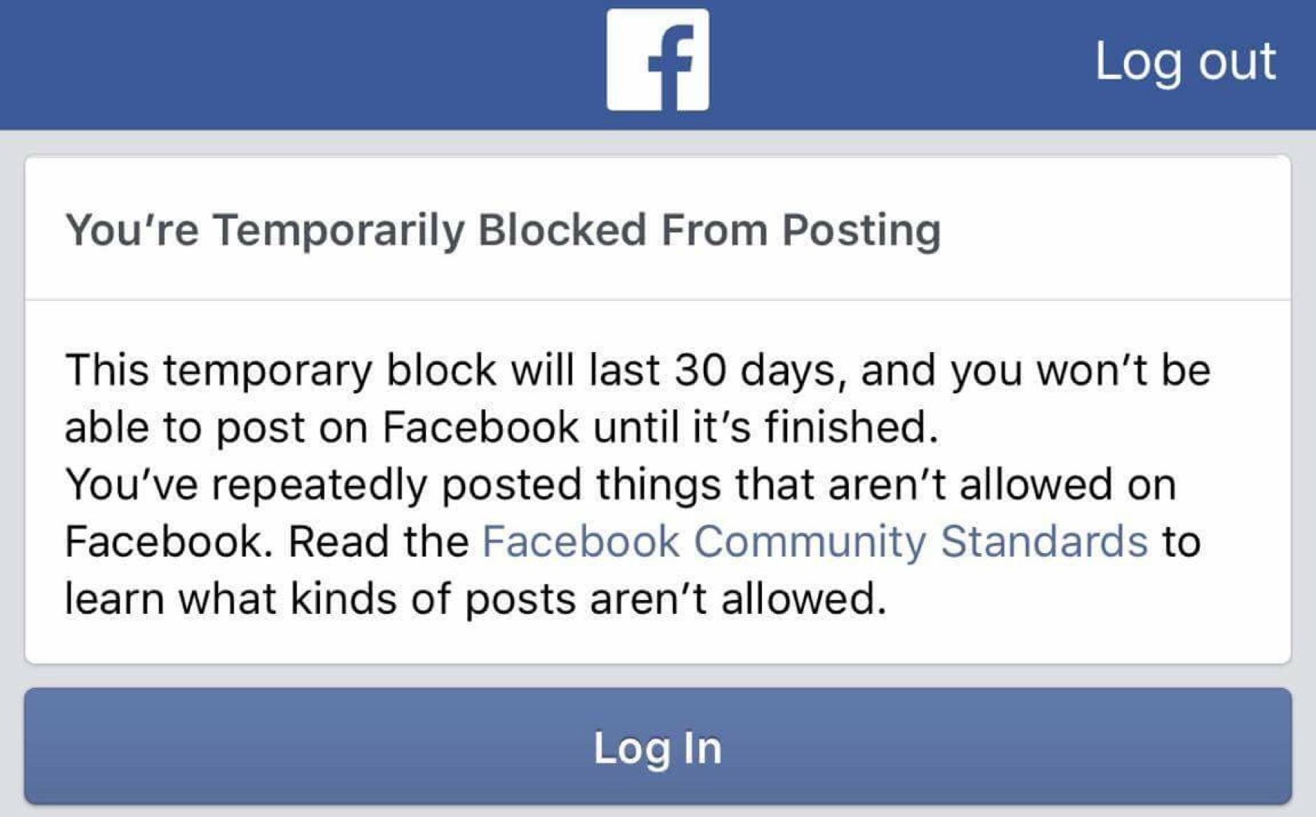 Facebook Ban, onyx truth 2