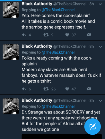 Jason Black Black Authority Damage Controlling On Twitter About Black Panther Film Page 11 Sports Hip Hop Piff The Coli Your browser does not support html5 video. the coli