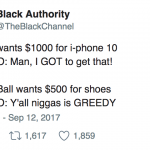 Black People Will Own a $1000 iPhone X before They Ever Own a $500 Pair of BBB Shoes