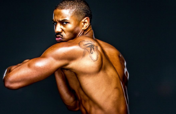 Sexy black man model