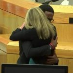 Botham Jean's Brother Brandt Jean Hugs & Forgives Amber Guyger