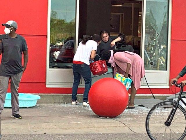 Target looters minneapolis, knee grow news